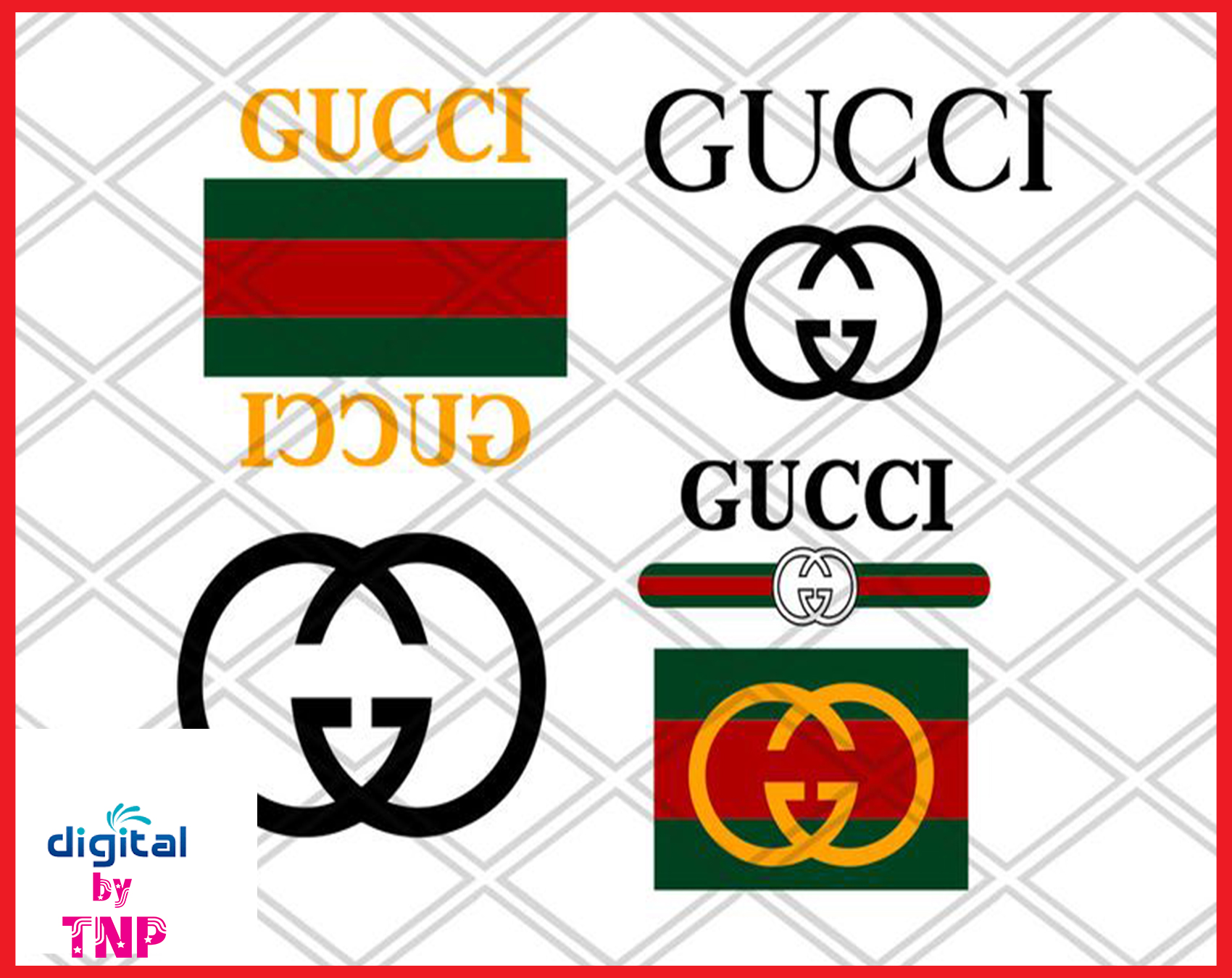 Chanel Gucci Svg Gucci Logo Svg Lacoste Svg Givenchy Svg Louis Vuitton Svg Silhouette Digital Download Customer Satisfaction Is Our Priority