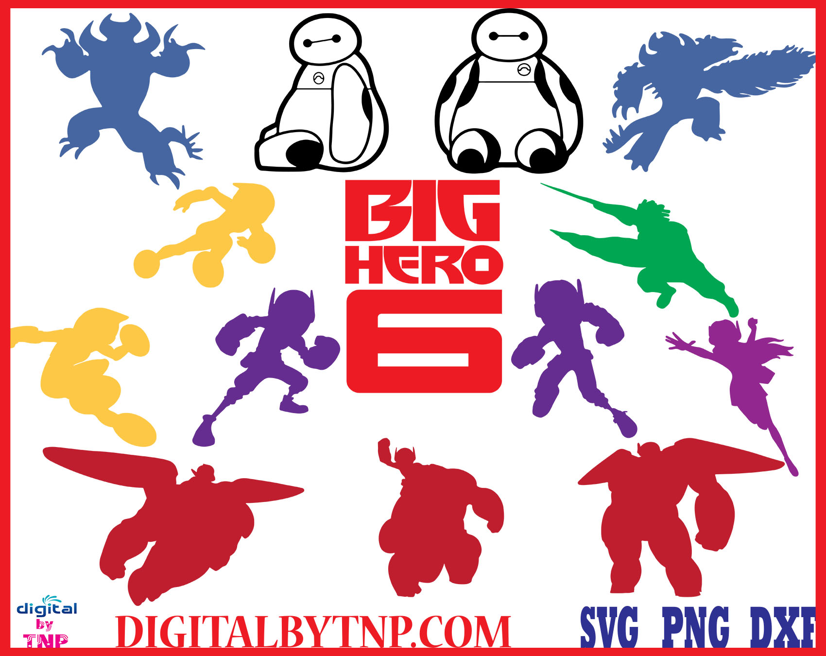 Big Hero 6 Svg Baymax Svg Big Hero 6 Tadashi Svg Baymax Heart Svg Svg Clipart Big Hero Cut File Svg Png Dxf Eps Customer Satisfaction Is Our Priority