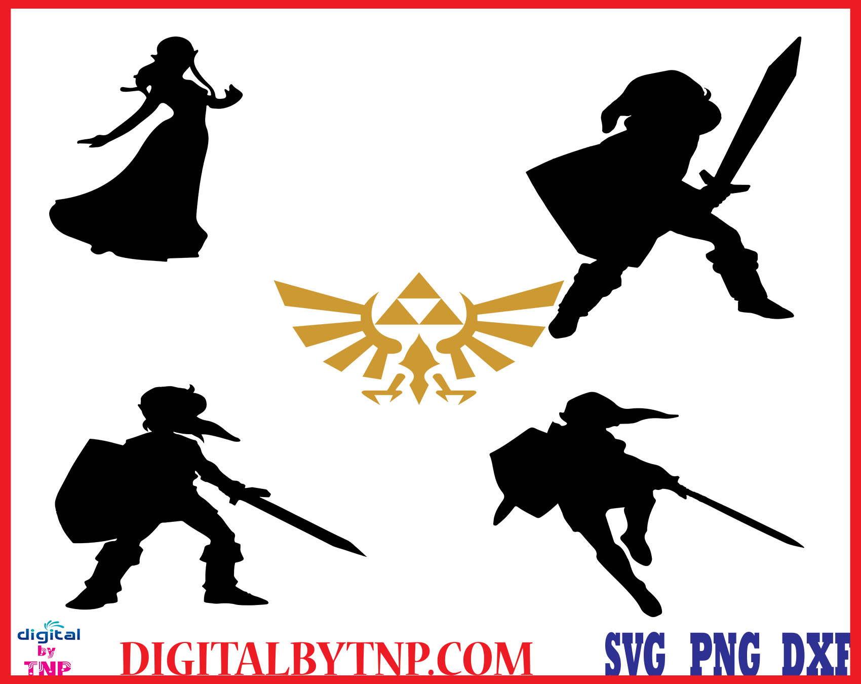 Zelda Svg The Legend Of Zelda Alphabet Clipart Zelda Characters Font Bundle Silhouette Stencil Cricut Vector Cut File Svg Png Pdf Eps Dxf Customer Satisfaction Is Our Priority